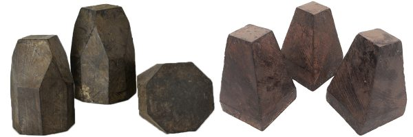 Bell blanks – African Blackwood