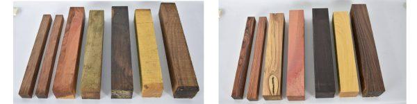 Turning Blank Pack – Rainbow Pack