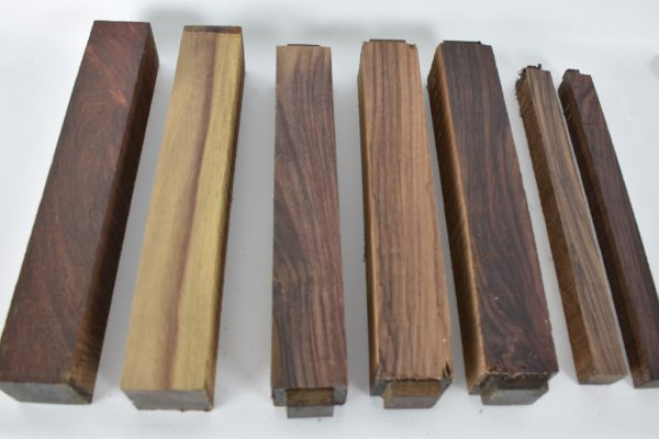 Turning Blank Pack – Rosewood, East Indian